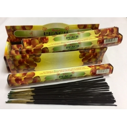 PAECH INCENSE STICK 6pk.of 20sticks each