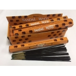 SANDAL WOOD INCENSE STICK 6pk.of 20sticks each