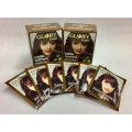 6pkt x 10gm. GLORY GOLD DARK BROWN HENNA FOR HAIR