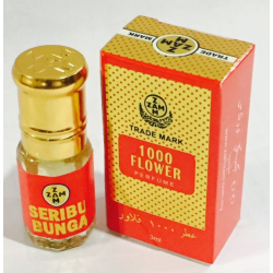 ZAM ZAM PERFUME OIL BASE (SERIBU BUNGA) 3ML